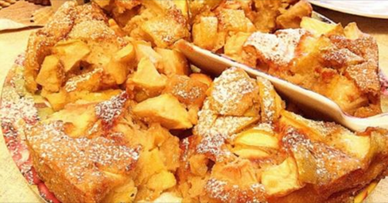 медовый пирог «Август»