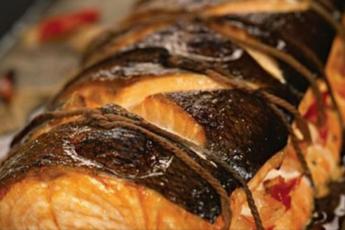 Рыбная бандероль — готовим ресторанное блюдо в домашних условиях