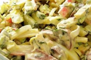 Супер вкусный салат к любому столу