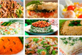 Простые и вкусные салаты на день рождения. 9 лучших рецептов праздничных закусок