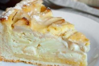 Потрясающий яблочный пирог с начинкой (Цветаевский)
