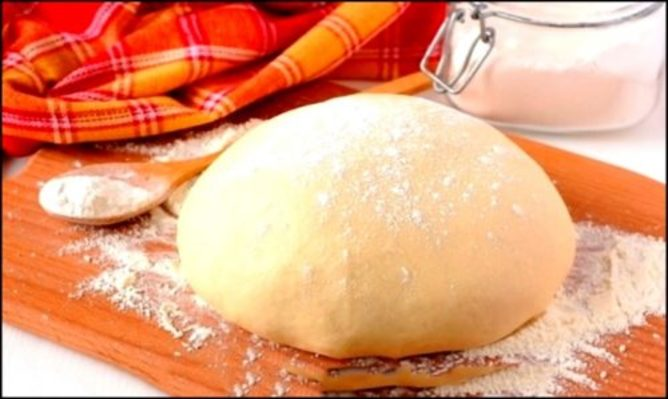 Дрожжевое тесто за 10 минут