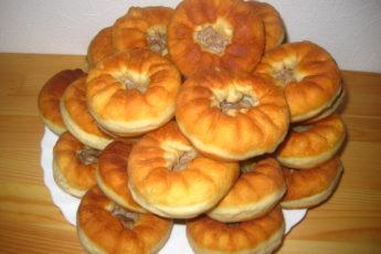 Пышные правильные татарские беляши в домашних условиях