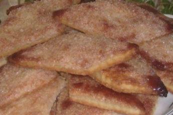 Домашнее хрустящее печенье на сметане!