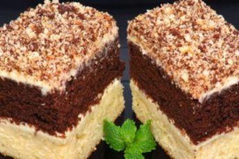 Пирожное «Сметанник»