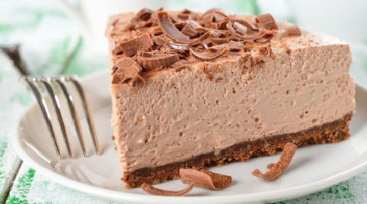 шоколадный торт-суфле без выпечки
