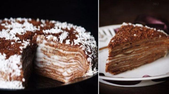Простой и вкусный шоколадный торт