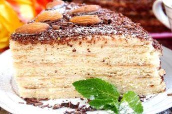 Торт сметанный на сковороде