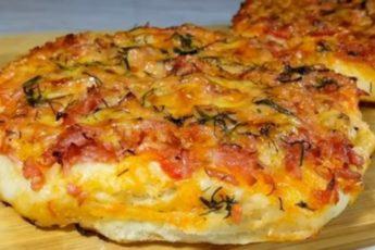Вкусная мини-пицца для быстрого перекуса: уникальный рецепт