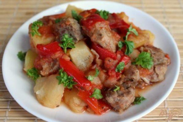 Ужин без возни — мясо с овощами в рукаве