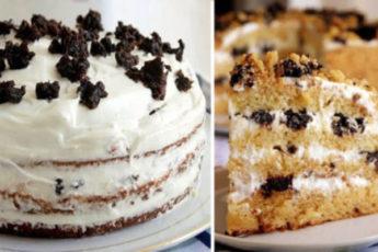 Вкуснейший торт «Медовик на кефире»