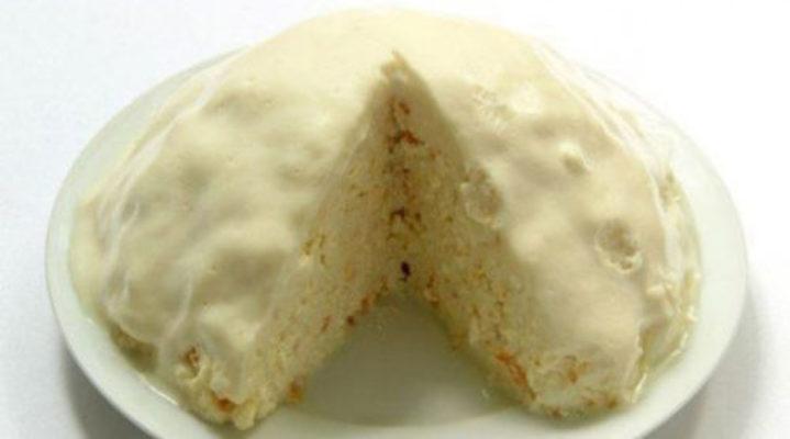 Молочный тортик без выпечки