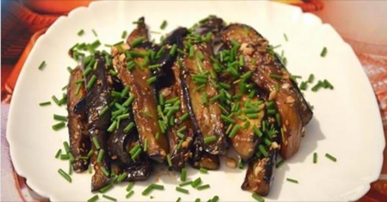 Идеальный гарнир к ужину: Закуска из баклажан за 15 минут