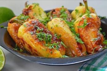 Обалденные жареные болгарские перцы