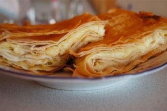 Завтрак за 10 минут! Сырный пирог из лаваша
