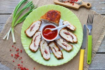 Кордон блю из курицы рецепт с фото