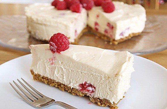 Творожный десерт с желатином без выпечки