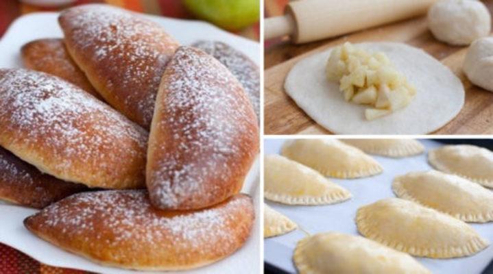 Пышные и румяные, мои любимые пирожки с яблоками!