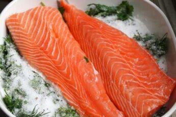 Ресторанная засолка рыбы лососевых пород