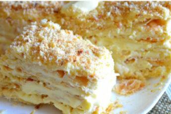 Изумительный торт «Наполеон»