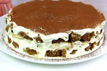 Нежнейший торт из печенья за копейки
