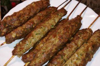 Люля кебаб из индейки в духовке