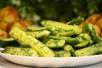 Вкуснейшие огурцы в горчице за 15 минут