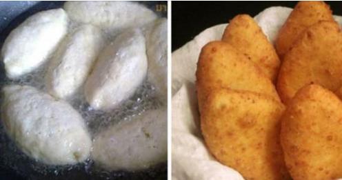 Пирожки с картофелем из творожного теста
