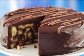 Шоколадный торт, который готовится без духовки