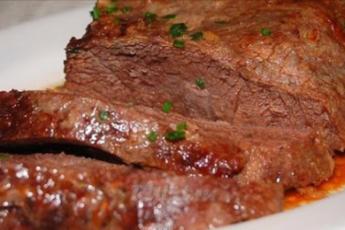 запеченное мясо в духовке