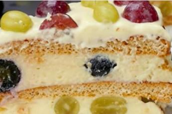 Божественный торт «Наслаждение»