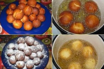 Вкусные творожные шарики