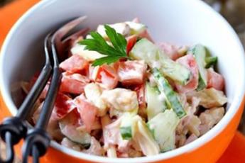 салат «Малибу»