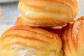 Эклеры с творожно - йогуртовой начинкой