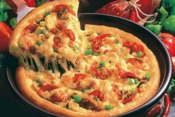 Рецепт быстрого приготовления пиццы на сковороде