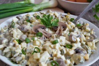 Праздничный салат за 5 минут