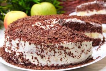 Торт «Выручайка». 20 минут и он на столе
