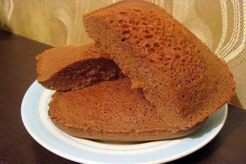 Шоколадный бисквит к чаю на скорую руку