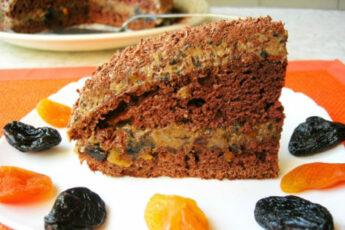 Торт «Пиковая дама»