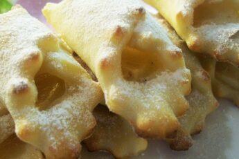 Творожное печенье «Платочки»