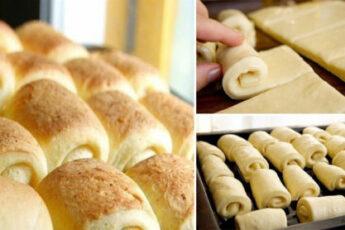 Домашние булочки «Нежные»