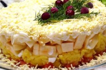 Безумно вкусный салат «Принцесса»