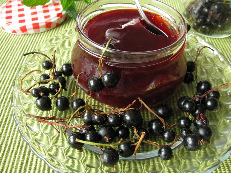 Запасаемся витаминами на зиму: черная смородина на меду