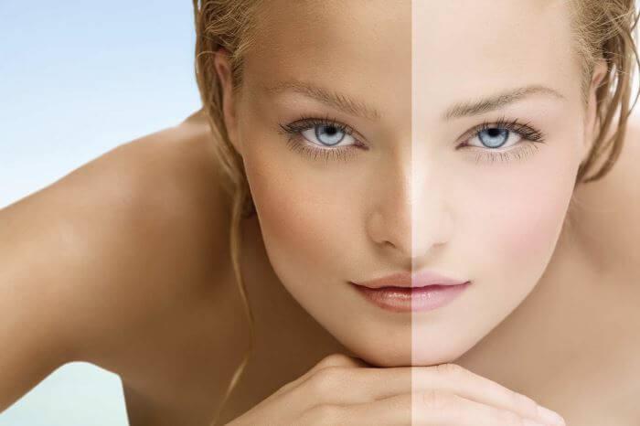 2 легких способа осветлить кожу за полчаса