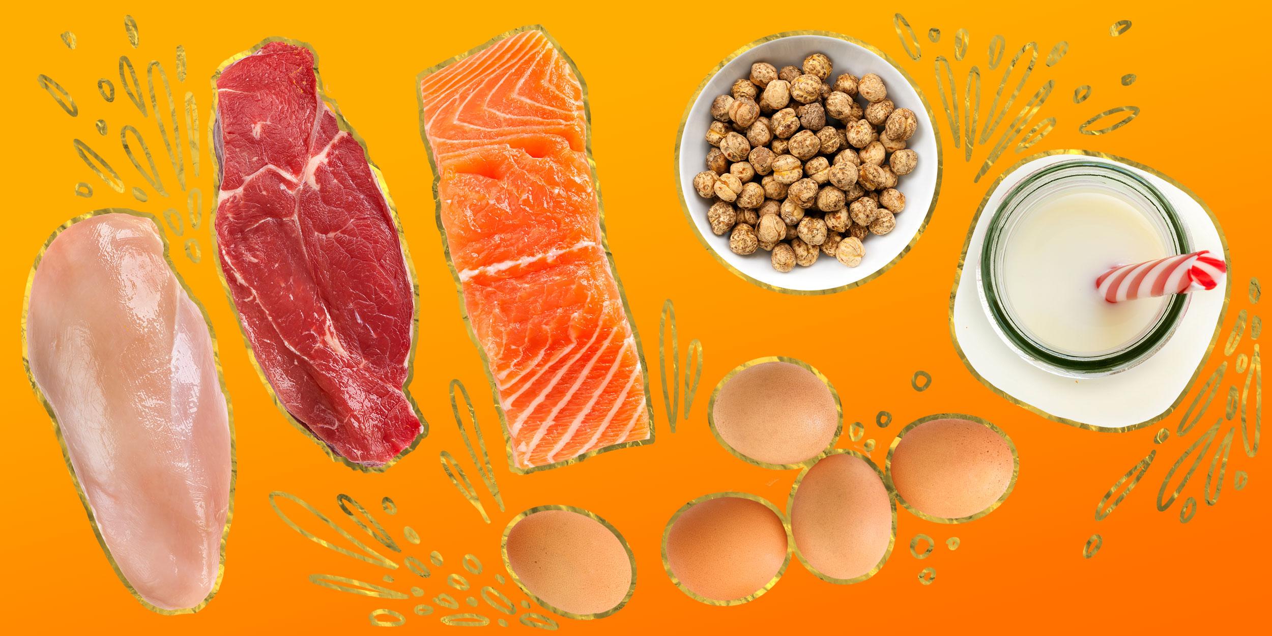 Не только мясо: 8 продуктов для роста мышц