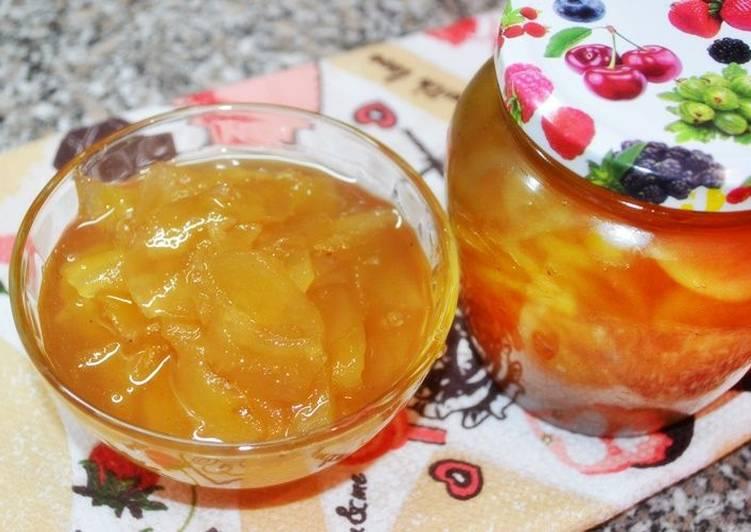 Пикантное варенье из груш с добавлением лимона и имбиря. Пошаговый рецепт
