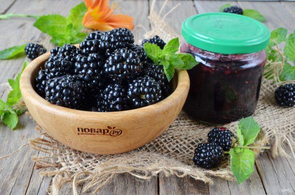 Готовлю желе из ежевики без варки ягод: живые витамины на зиму за 15 минут