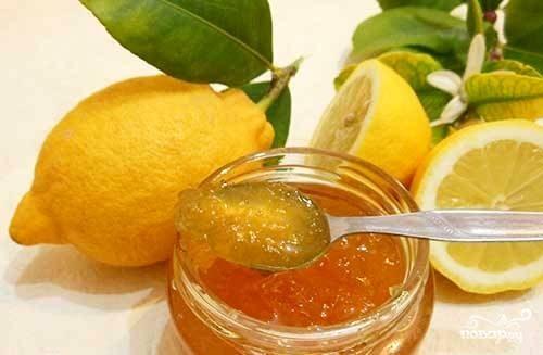 Лимонное варенье рецепт