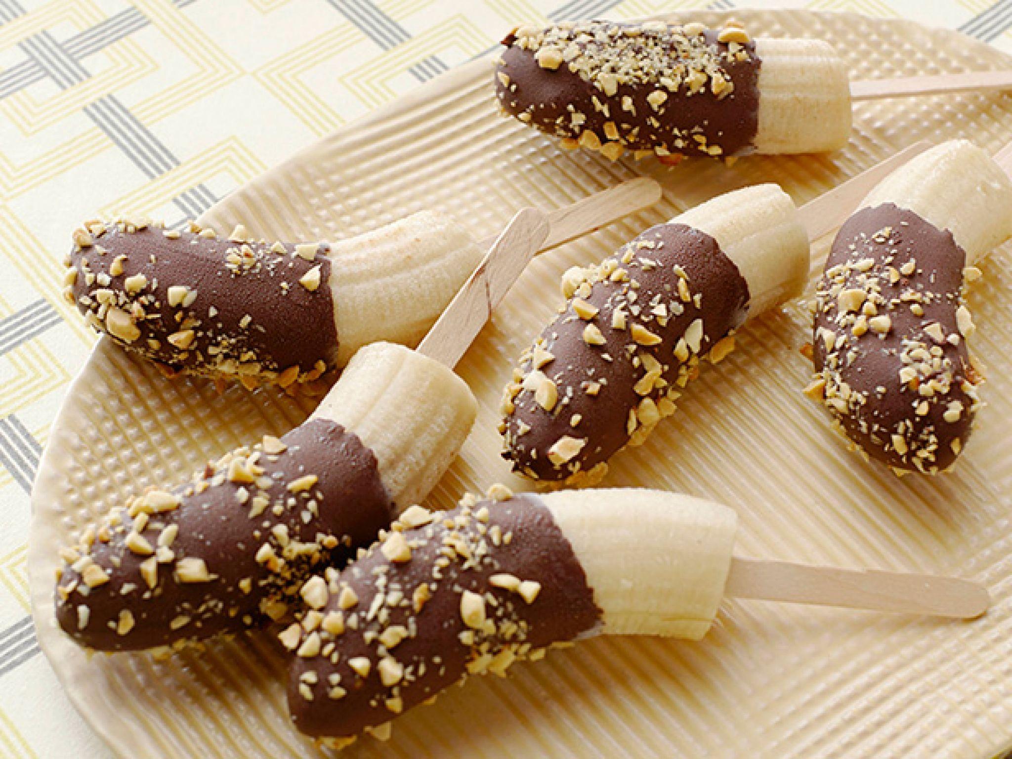 Самый быстрый и вкусный десерт Бананы в шоколаде